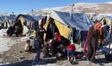 العثور على كمية من الاسلحة في مخيم النازحين السوريين في سعدنايل