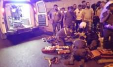 الدفاع المدني: حادث صدم على اوتوستراد المدينة الرياضية