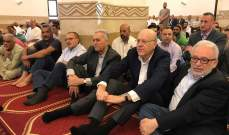 ميقاتي ادى صلاة العيد في جامع العزم في باب الرمل بطرابلس