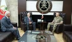 قائد الجيش التقى عسيران ورئيس فرق تدريب القوات الخاصة بالجيش الأميركي