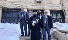 الجمعية الأرثوذكسية لرعاية المساجين زات سجون البقاع واطلعت على أوضاع السجناء وحاجاتهم
