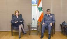 اللواء عثمان عرض الأوضاع العامة مع جمالي
