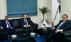 شقير ووزير التخطيط اليمني اتفقا على لقاء اقتصادي موسع في ايلول على صعيد القطاع الخاص