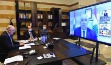 فهمي لوزراء الداخلية العرب: لبنان بحاجتكم فقد أصبح مهددا بالتشتت والتلاشي والزوال