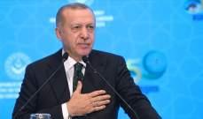 اردوغان: بدأنا العمل على إسكان مليون شخص في تل أبيض ورأس العين بسوريا
