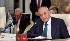 بري بمؤتمر البرلمانات العربية: المقاومة اولاً والمقاومة احدى عشر كوكبا