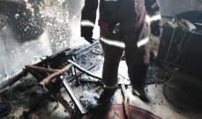 اندلاع حريق داخل شقة في الطبقة السابعة من مبنى سكني في الغبيري