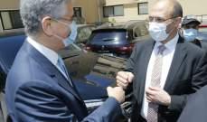 حسن التقى وفدا من البنك الدولي: وزارة الصحة أعادت جزءا من الثقة المفقودة بين المواطن والمؤسسات الرسمية