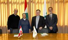 رئيس جامعة الحكمة وقع مع رئيسة مستشفى قلب يسوع اتفاقية تعاون