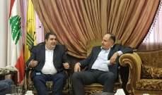 لقاء لجنة العودة في التيار الوطني الحر ومسؤول ملف النازحين السوريين في حزب الله