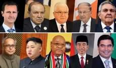 الأسد تلقى برقيات تهنئة من رؤساء 10 دول بمناسبة ذكرى إستقلال سوريا