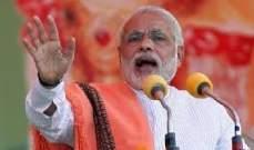 رئيس وزراء الهند: نتبع نهجا شاملا للتعامل مع العناصر الإرهابية