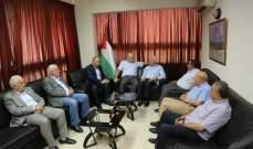 لقاء بين قيادتي حركة فتح والجبهة الديمقراطية: لضرورة تحقيق الوحدة الوطنية