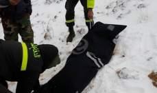 الجيش: مقتل 10 سوريين بالثلوج بجرود الصويري خلال محاولتهم الدخول خلسة