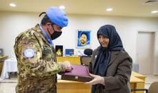 قائد القطاع الغربي لليونيفيل زار مؤسسات الامام الصدر في صور
