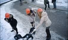 السلطات الروسية تبذل ما بوسعها لتلافي الآثار المأسوية لتساقط كميات قياسية من الثلوج