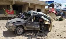 المرصد السوري: طائرة إسرائيلية استهدفت سيارة يُرجح أنها تابعة لحزب الله عند معبر جديدة يابوس