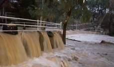 مصلحة الأبحاث العلمية الزراعية نبهت من فيضان الأنهار ومجاري المياه