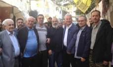 جولة مشتركة بين فتح وانصار الله والفصائل الفلسطينية في مخيم المية ومية