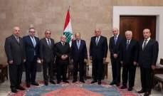 الرئيس عون أكّد العمل لإخراج لبنان من الظروف الصعبة التي يجتازها