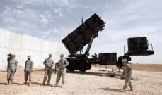 """الجيش الأميركي يفعل منظومات """"باتريوت"""" وضد الصواريخ القصيرة بالعراق"""