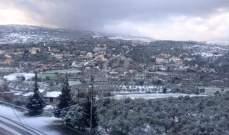أمطار متفرقة غدا والثلوج على ارتفاع 1400 متر
