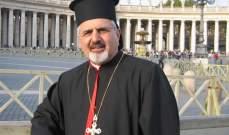 البطريرك يونان: جزء كبير مما وصل اليه لبنان على عاتق من يدعون الزعامة المسيحية