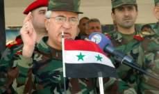 وزير دفاع سوريا بحث مع وفد عسكري أممي آلية عودة الأندوف لمنطقة الفصل بالجولان