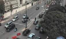 التحكم المروري: حركة المرور كثيفة من كورنيش المزرعة باتجاه البربير