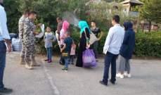 النشرة:45 سورياً يتجمعون مع امتعتهم في النبطية تمهيداً للانطلاق الى سوريا