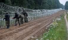 سلطات بولندا بصدد تمديد حالة الطوارئ على الحدود مع بيلاروس