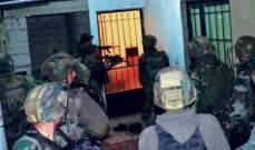 الجيش داهم منزل أحد المطلوبين في محلة الشراونة دون أن يجده