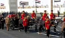 بدء مراسم تشييع الرئيس المصري الأسبق حسني مبارك