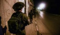 الجيش الإسرائيلي اعتقل 11 فلسطينيا بالضفة الغربية خلال الليلة الماضية