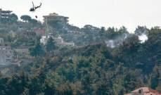 """مصدر عسكري لـ""""الشرق الاوسط"""":الطوافات الثلاث لم تكن لتكفي الحرائق التي وصلت إلى 104"""