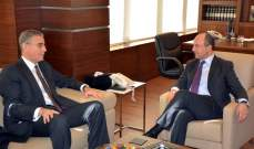 أبوعاصي عرض مع سفير المانيا ووفد البنك الدولي تنفيذ مشاريع