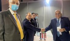 بوحبيب التقى نظيره السوري في بلغراد وبحثا مسألة النازحين في لبنان