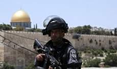 الجزيرة: إصابات في صفوف المعتصمين الفلسطينيين بالمسجد الأقصى
