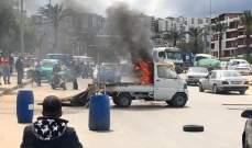 MTV: مواطن أضرم النار بشاحنته في الملولة احتجاجا على طلب إزالة البسطات المخالفة