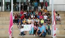 اليونيفيل الاسبانية تبرعت بمعدات مدرسية للمدارس الابتدائية في القليعة وعين عرب