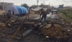التحكم: ساحة النور ساحة العبدة وادي الجاموس والبيادر في حلبا وطرابلس مقطوعة