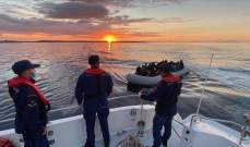 خفر السواحل التركي أنقذ 67 طالب لجوء قبالة سواحل ولاية إزمير