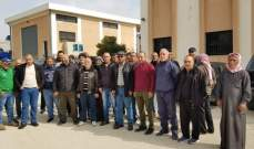 عمال تشغيل أنظمة المياه في بعلبك واصلوا إضرابهم المفتوح