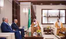 ولي عهد السعودية:حريصون على استقرار العراق ونعتزم تنمية العلاقات الثنائية