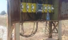 سرقة أسلاك نحاسية لمحول الكهرباء في معاد الجبيلية