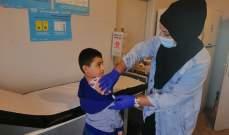 وزارة الصحة واصلت حملة التلقيح للأطفال في قرى وبلدات قضاء مرجعيون