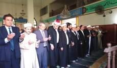 الطائفة العلوية أحيت عيد الفطر في مسجد الزهراء بجبل محسن