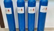 """جمعية """"من حقي الحياة"""" تقدم اسطوانات أوكسجين لعدد من مستوصفات جبيل"""
