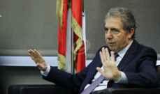 وزير المال ينفي ان تكون استقالة آلان بيفاني مطروحة في جلسة اليوم
