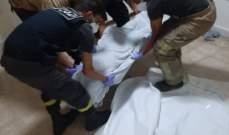الدفاع المدني: نقل جثة عاملة من التابعية الإثيوبية من طريق الجديدة إلى المستشفى